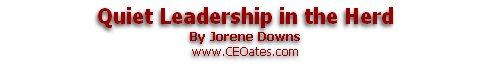 Quiet Leadership in the Herd